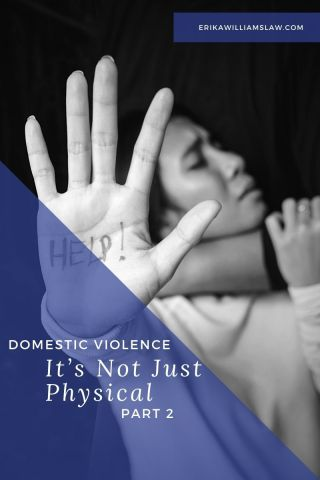 domestic violence, not just physical, part 2
