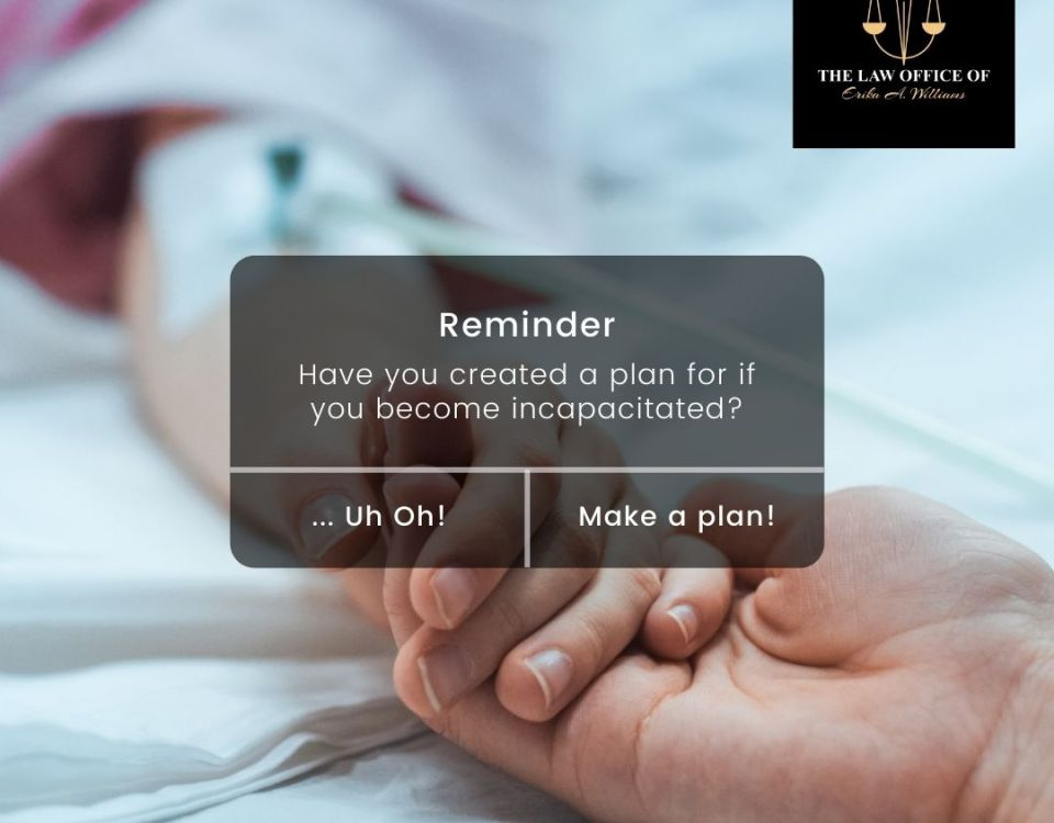 Have You Created an Incapacity Plan?