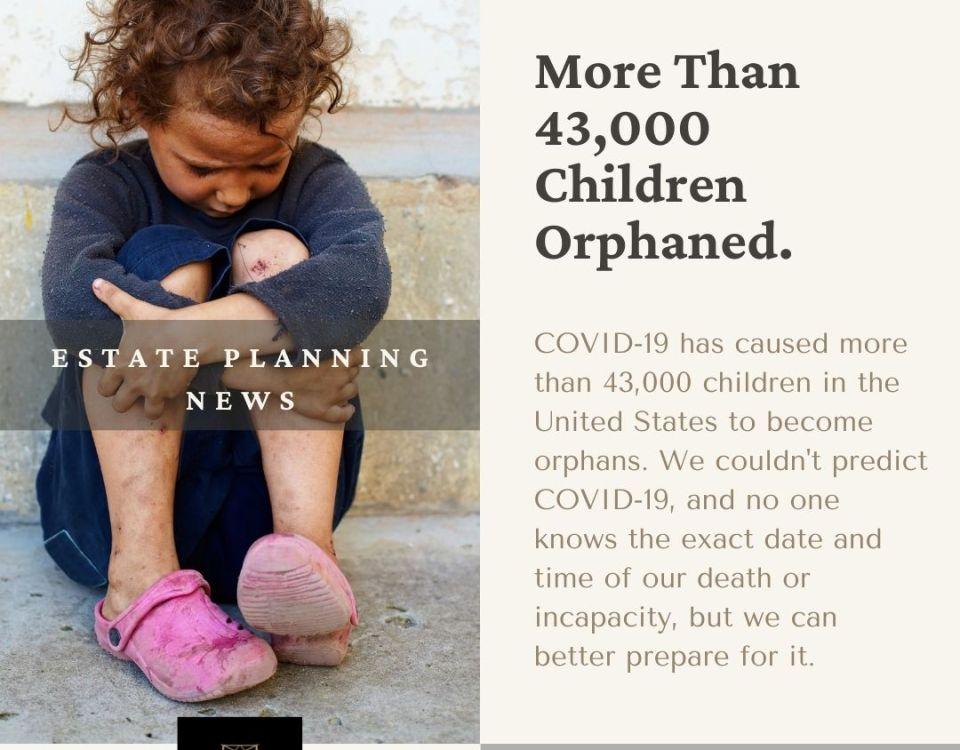 43,000 Children Orphaned
