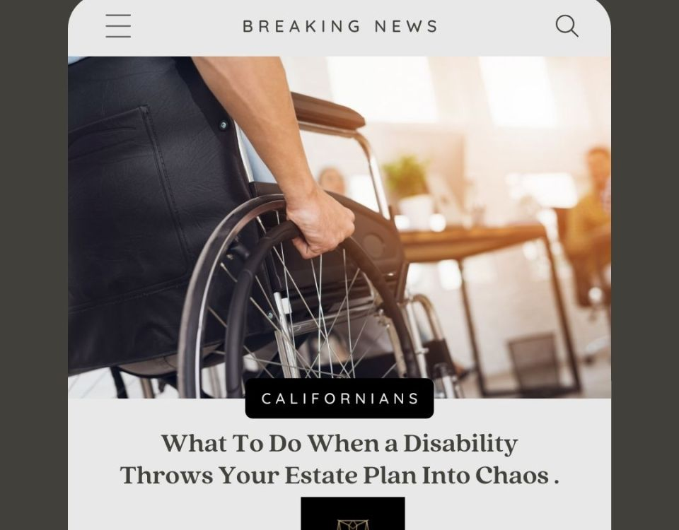When You Become Disabled